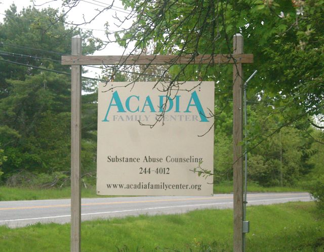 acadia sign